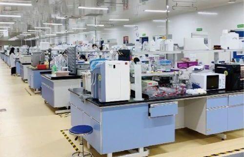 3500 m lab space